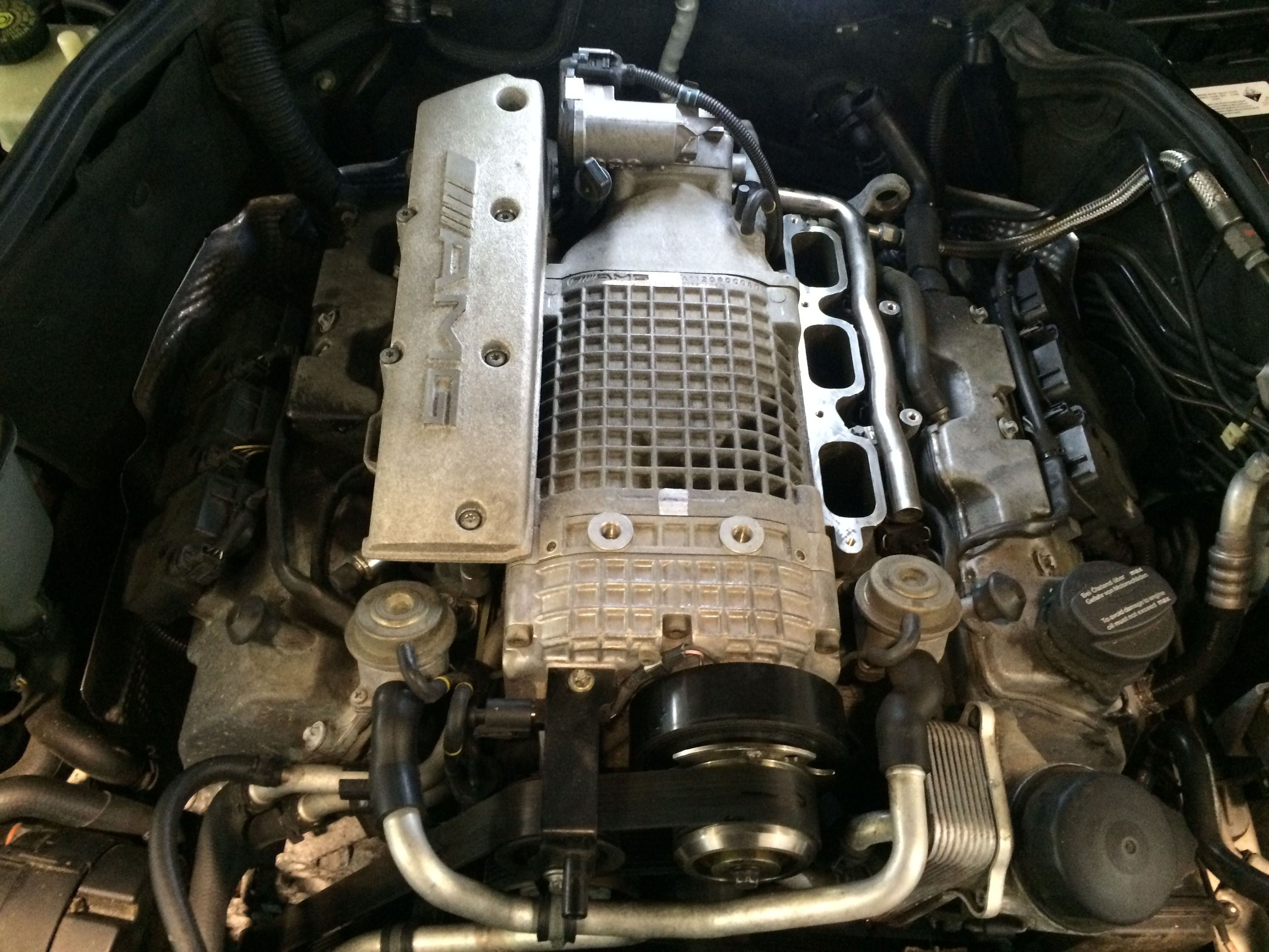 Mercedes C32 Amg W203 Supercharger Rebuild By Power Torque