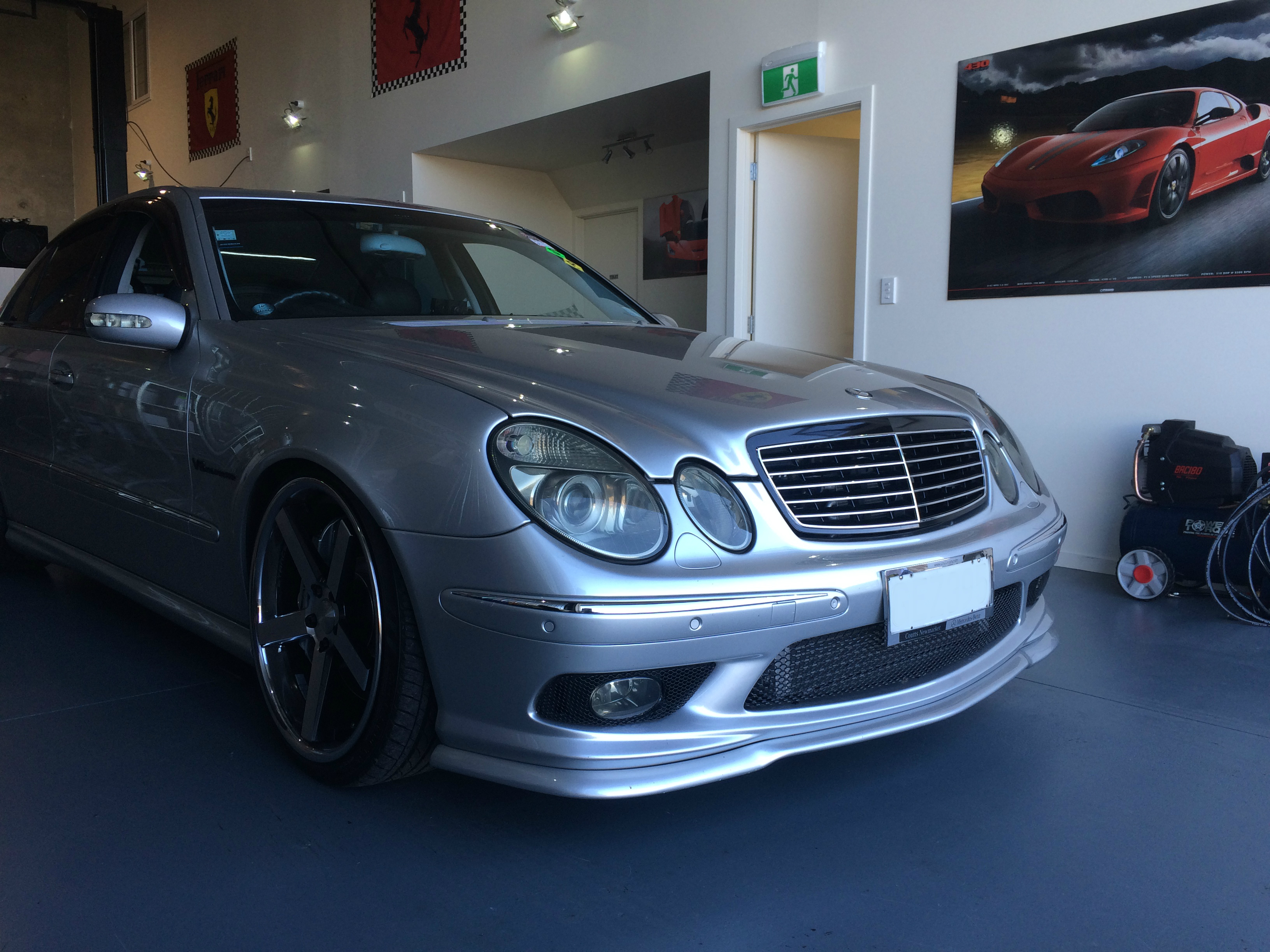 e55 amg w211 v8 supercharged power torque nz proving the power of performance new. Black Bedroom Furniture Sets. Home Design Ideas